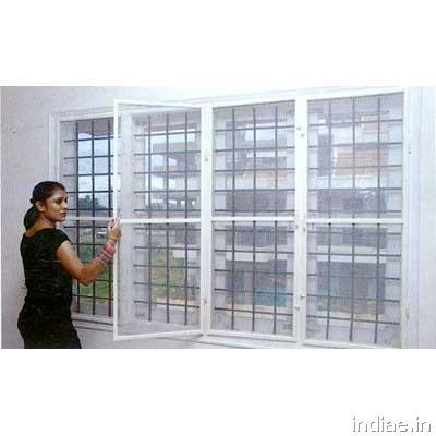 Netlon saint gobain mosquito net insect screens for - Mosquito net door designs ...